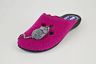 Тапочки женские фетровые Inblu NC1B розовые