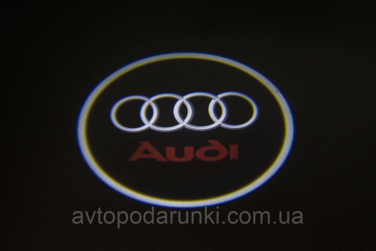 "Подсветка ""GHOST SHADOW LIGHT"" логотип AUDI"