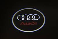 "Подсветка ""GHOST SHADOW LIGHT"" логотип AUDI, фото 1"