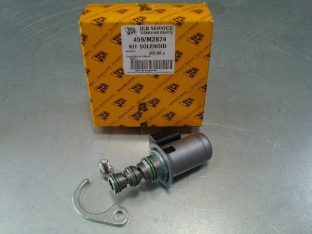 459/M2874 катушка коробки передач, соленоид кпп, електроклапан на коробку переключения передач JCB 3cx