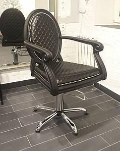 Кресло парикмахерское в классическом стиле для салона красоты Mozart