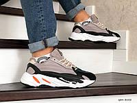 Чоловічі кросівки в стилі  Adidas Yeezy Boost 700 капучіно