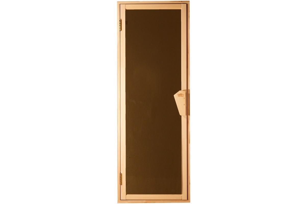 Дверь для бани и сауны Tesli UNO Sateen1900 х 700