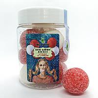 Скраб-конфетки ручной работы Клубника со сливками 250 мл Naturalina