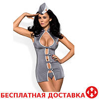 Эротический костюм Obsessive Stewardess , L/XL