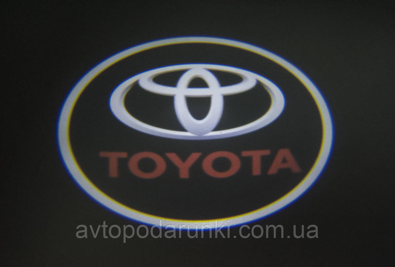 """Подсветка """"GHOST SHADOW LIGHT"""" логотип TOYOTA"""