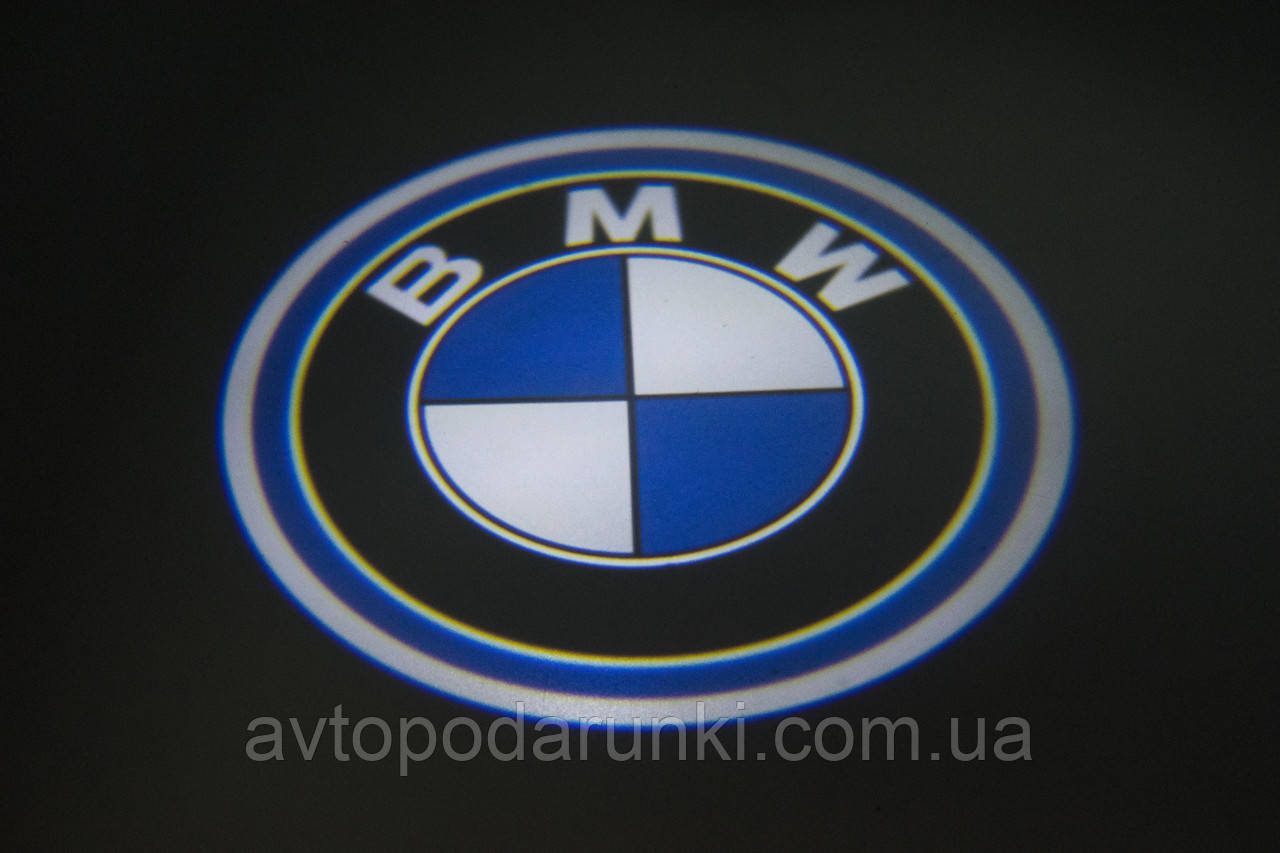 "Подсветка ""GHOST SHADOW LIGHT"" логотип BMW"