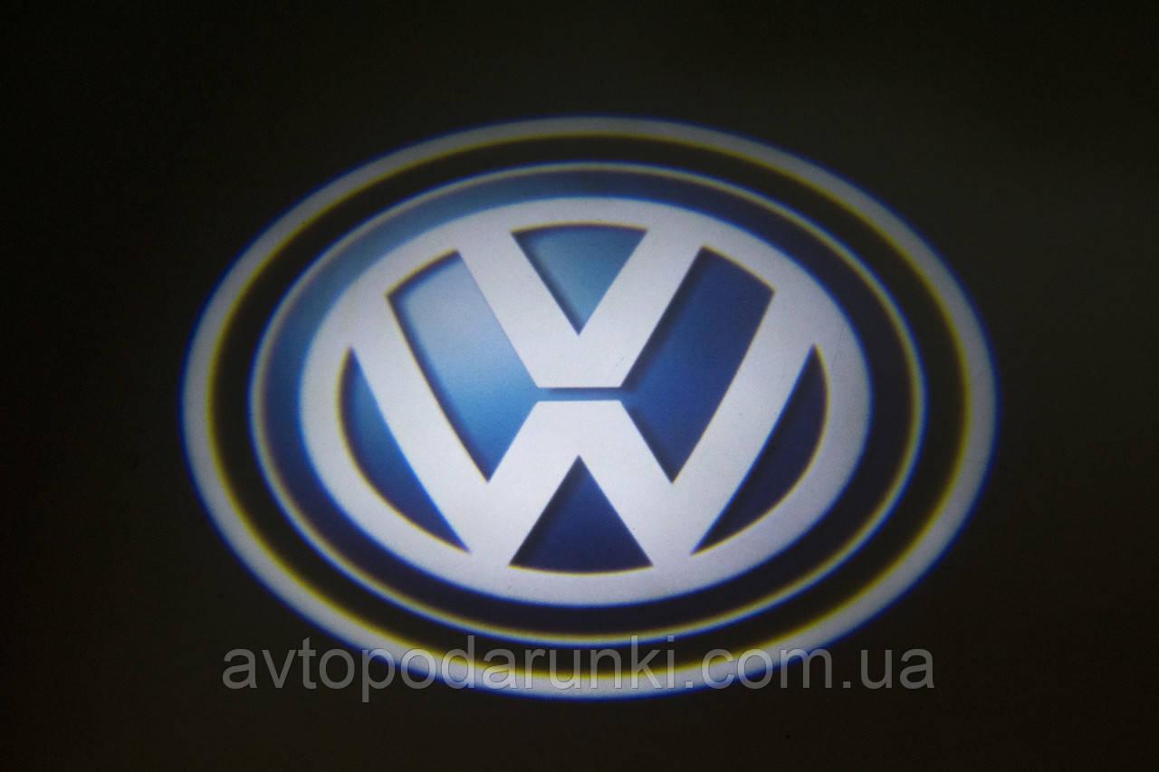 "Подсветка ""GHOST SHADOW LIGHT"" логотип VW"