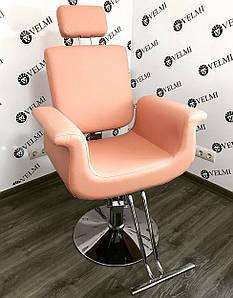 Кресло парикмахерское для клиентов салона красоты   Diva Хром пятилучье+Пневматика