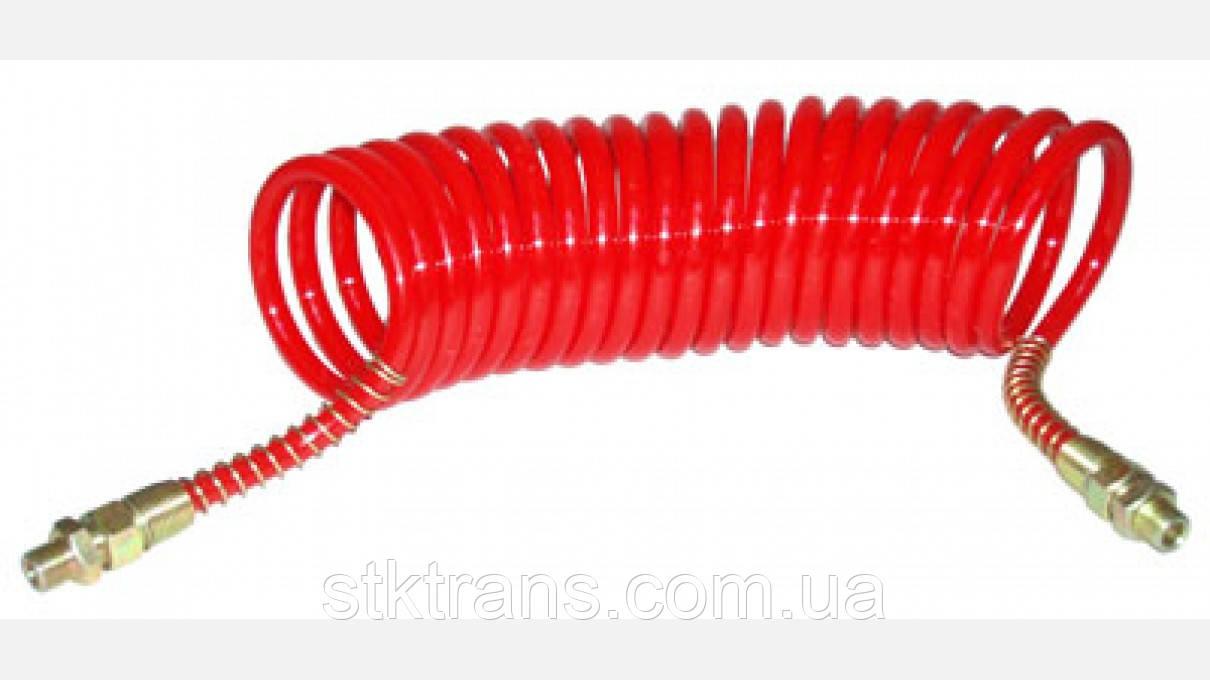 Шланг пневматический красный POLIAMID [12х9] 6m - DIN73378-1