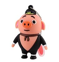 Прикольная флешка 32Гб Свинка, поросёнок, фото 1