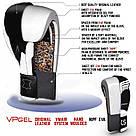 Боксерские перчатки V`Noks Aria White 14 ун., фото 10