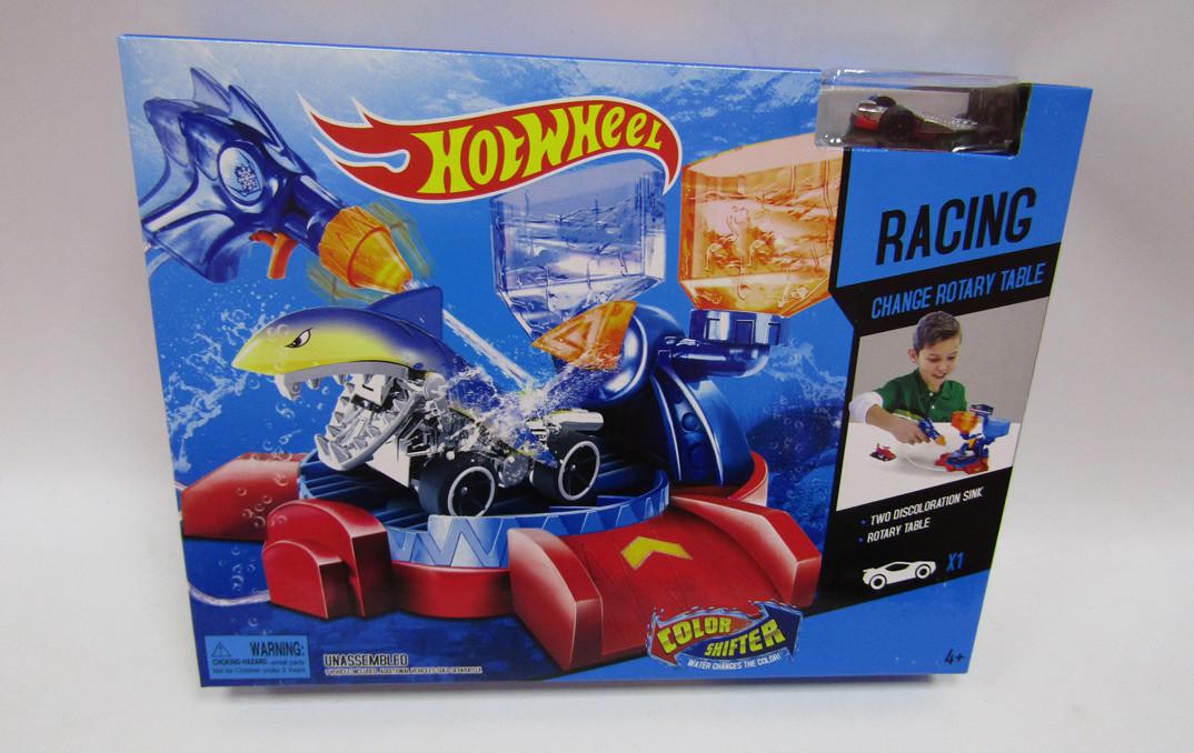 """Автомийка """"Hot Wheel"""" (машинка змінює колір), 2706"""