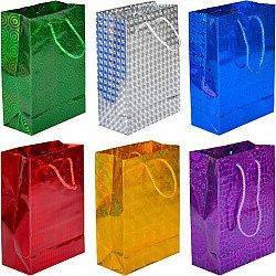 Пакет 13*11см Голограмма подарочный