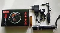 Тактические велосипедный фонарь Police T-8628-XPE