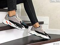 Жіночі кросівки в стилі  Adidas Yeezy Boost 700  капучіно