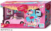 """Кабриолет для куклы """"Свадебный лимузин"""", с куклой и аксессуарами, QL055-2"""