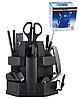 Настільний набір на 16 предметів крутиться чорний BM.6302 Buromax