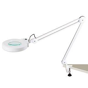 Светодиодная лампа-лупа LD-86 с креплением к столу или к кушетке
