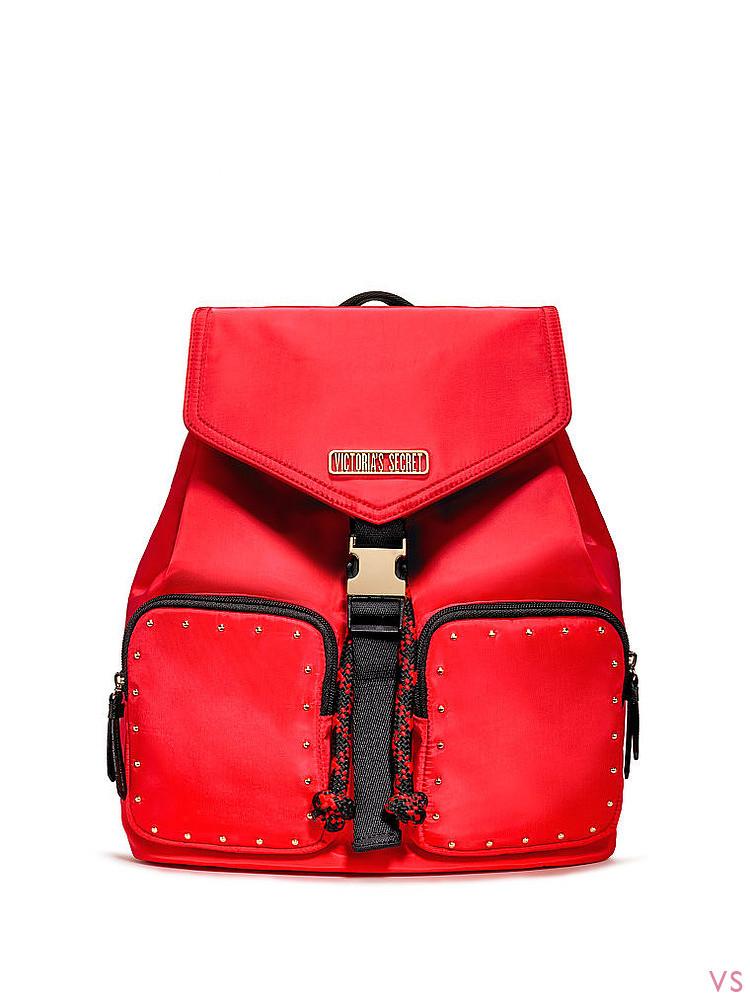 Рюкзак красный Victoria Secret, оригинал!