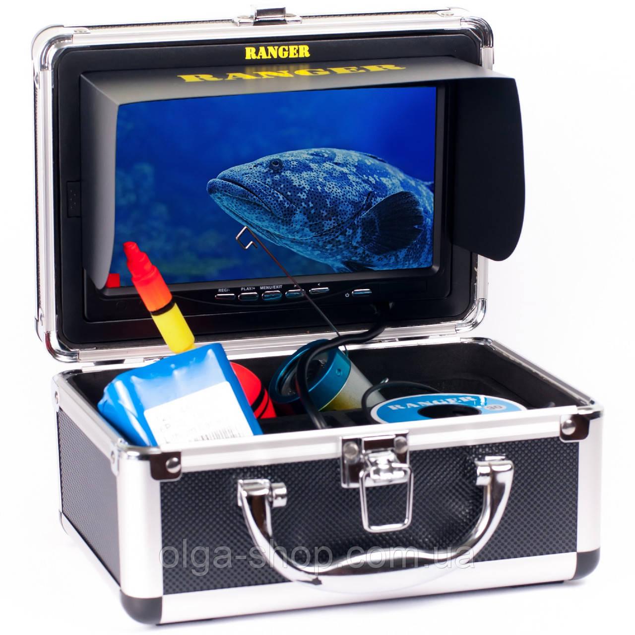 Видеоудочка подводная видеокамера камера для рыбалки Underwater Fishing Camera Ranger Lux Case 30 m