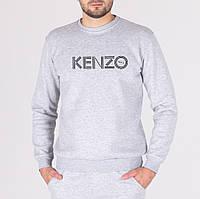 Мужской свитшот серый Keнзо (копия)