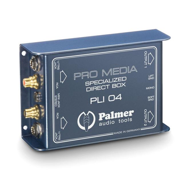 Медиа DI Box 2 канала для компьютеров и ноутбуков Palmer Pro PLI04