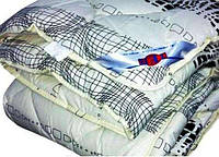 Одеяло закрытое овечья шерсть (Поликоттон) Двуспальное Евро T-51065
