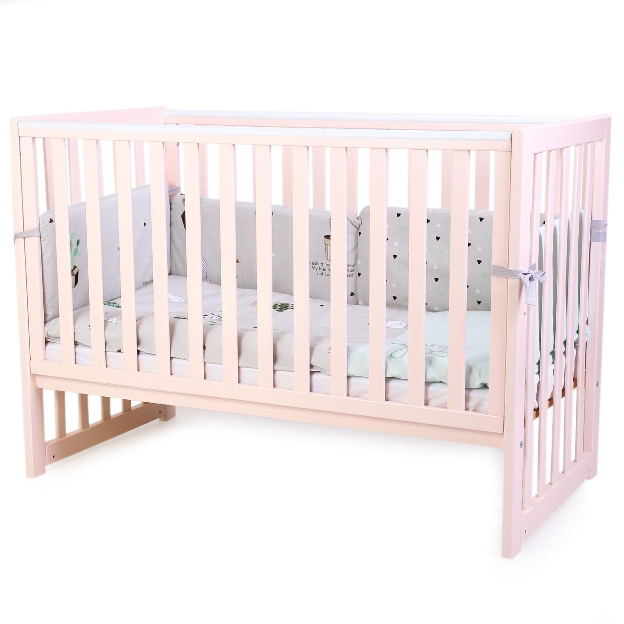 Детская кроватка Верес Соня ЛД 13 Пудра