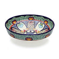 Накладна мексиканська розписна раковина для ванної кімнати