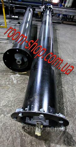 Шнековый конвейер (сыпучих материалов, цемента) диаметром 219 мм., длиною 8 метров, фото 2