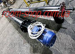 Шнековый конвейер (сыпучих материалов, цемента) диаметром 219 мм., длиною 8 метров, фото 3