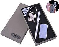 Подарочный набор с ручкой, зажигалка и брелком для ключей Moongrass 3в1 Украинская Символика