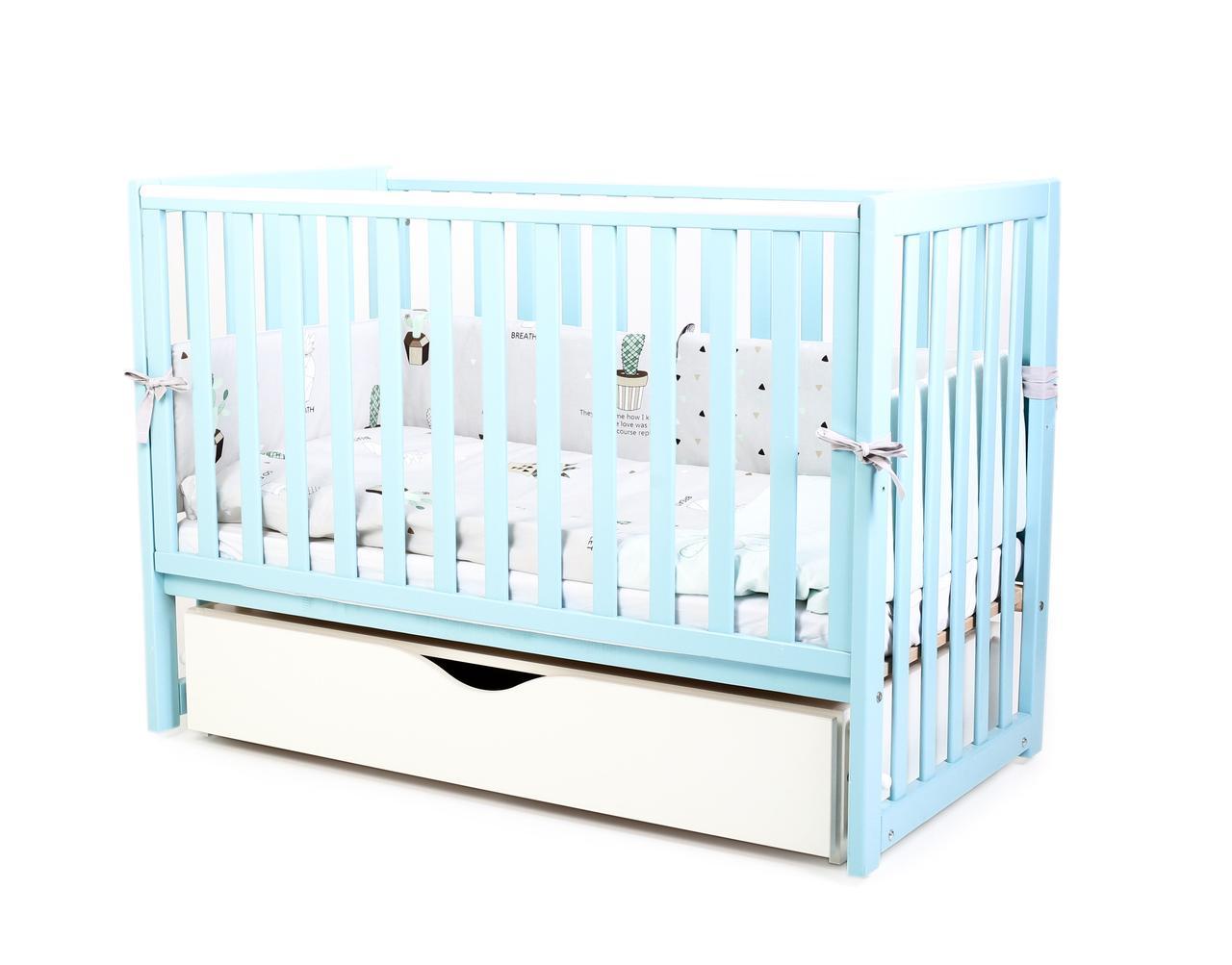 Детская кроватка Верес Соня ЛД 13 Тифани маятник с ящиком