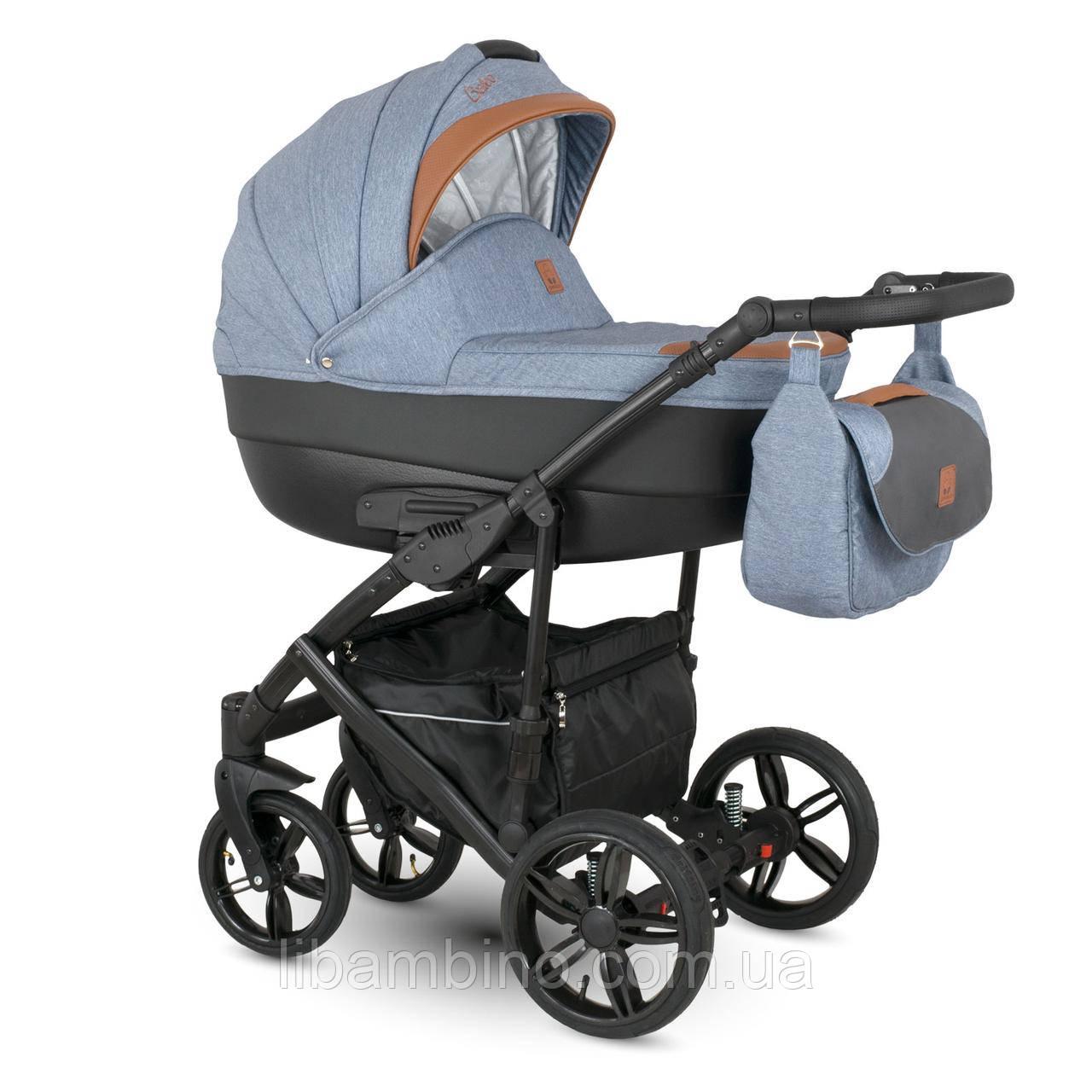 Дитяча універсальна коляска 2 в 1 Camarelo Baleo Ba-6