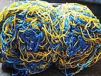 """Сітка футбольна """"Юніор"""" 4,5 мм кольорова, фото 1"""