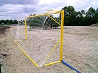 Сетка футбольная пляжная 4 мм