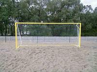 Сітка футбольна пляжна 4,5 мм прем'єр-ліга, фото 1