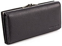 Чорний класичний жіночий гаманець на магнітах Marco Coverna