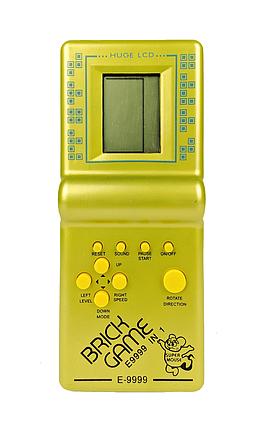 Игрушка Tetris Brick Game игра тетрис E-9999 in 1 Желтый, фото 2