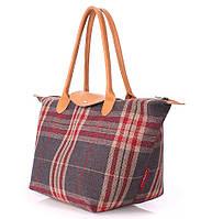Женская клетчатая сумка Poolparty Plaid, фото 1