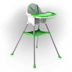 Стілець DOLONI-TOYS для годування, зелений, 03220/1