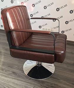 Кресло парикмахерское с механизмом подъема пневматика/гидравлика для салона красоты Bronx