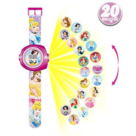 """Детские наручные часы с 3d проектором """"Золушка (Cinderella)"""", фото 2"""