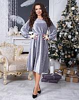 Красивое нарядное платье из люрекса, фото 1