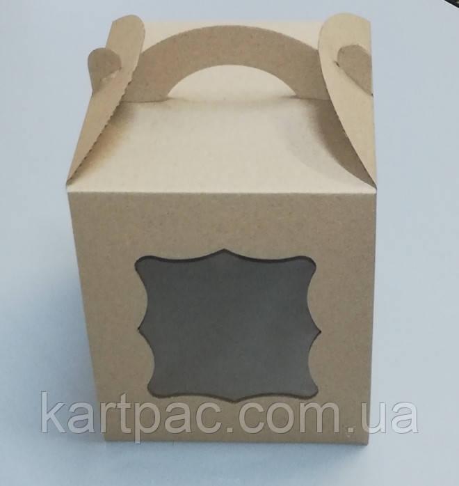 Упаковка для пасхи бура 170*170*210