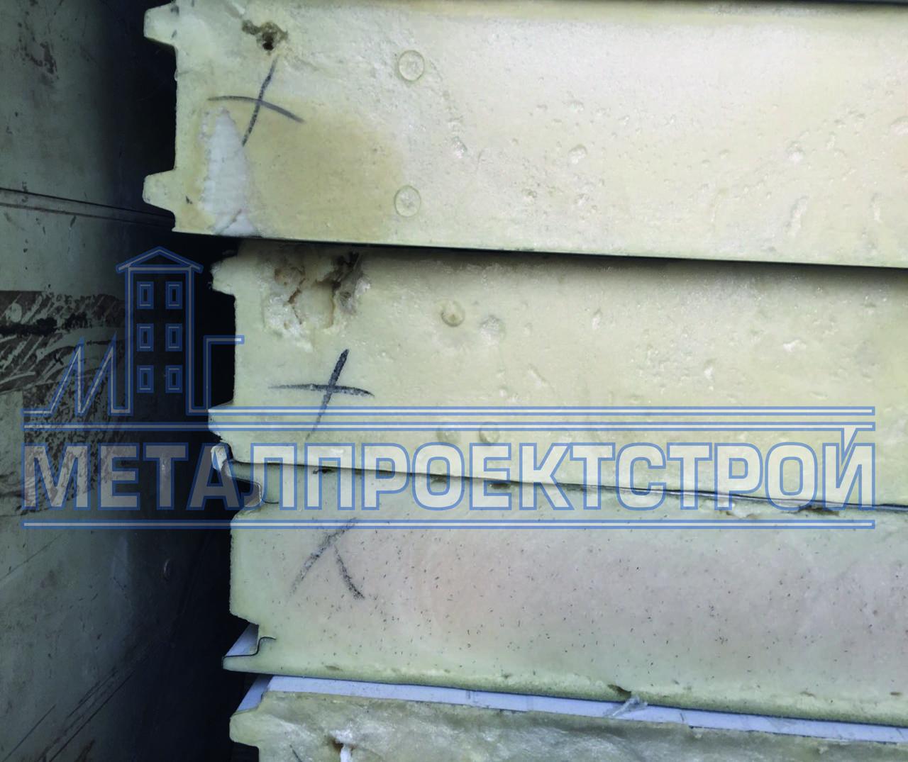 Сендвич-панель стеновая пенополиуретан 100 мм