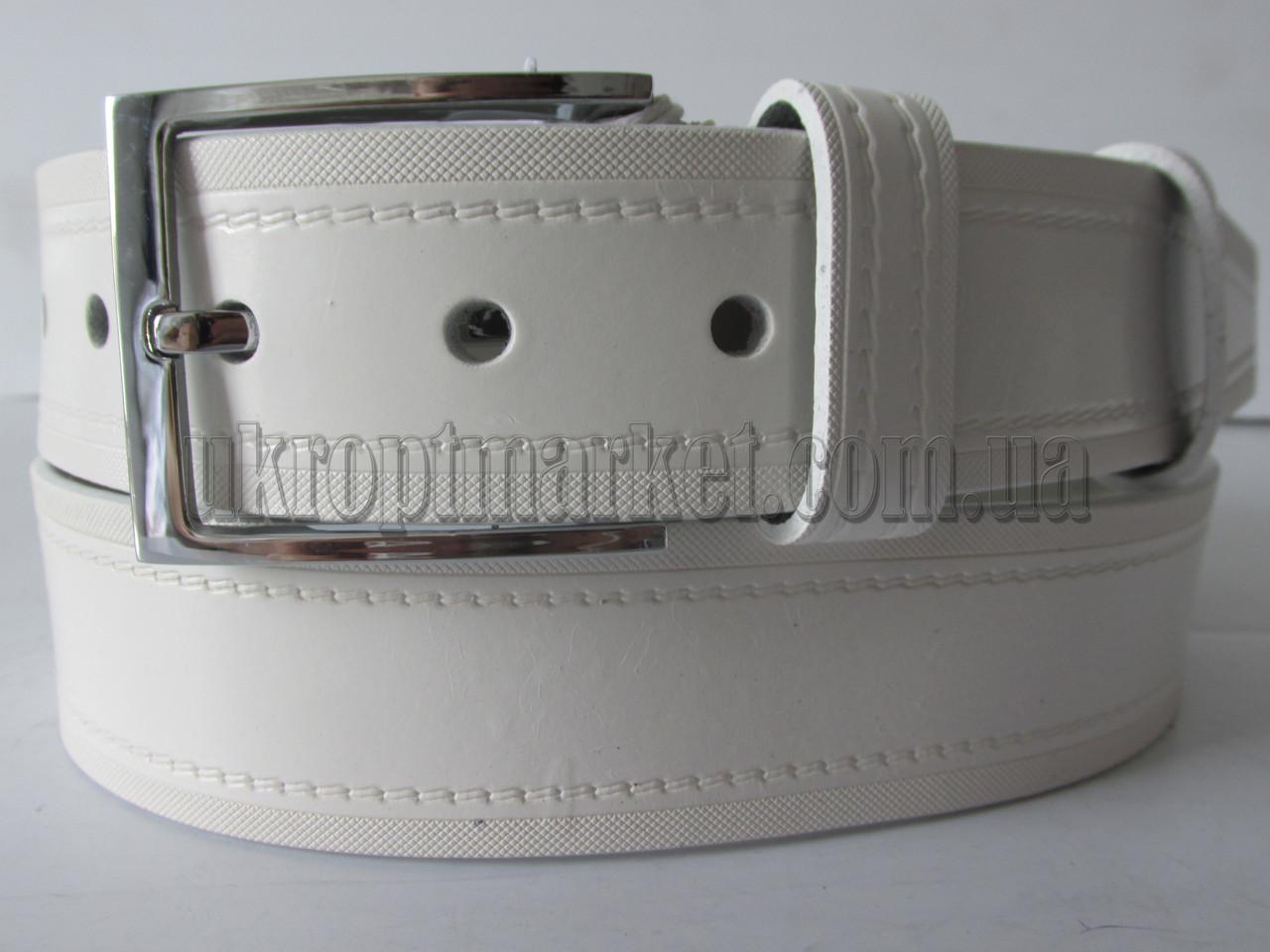 """Ремень мужской джинсовый шпенек (кожа, 40 мм.) №М17804  """"Remen"""" LM-638"""