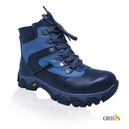 Ботинки зимние ортопедические c подкладкой из натурального меха AR367
