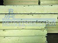 Сендвич-панель стеновая МеталПроектСтрой из пенополиуретана 80 мм
